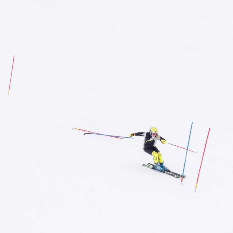 ski racer shinguard race boot bindings, Minnesota