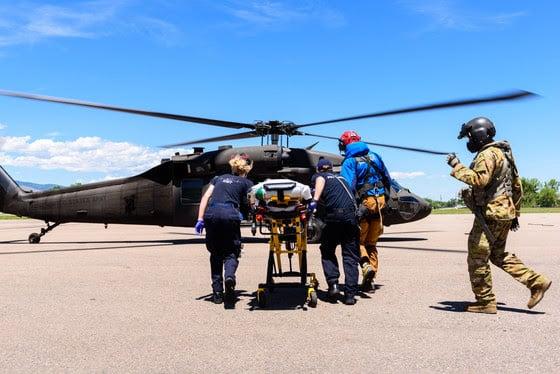 Mount Neva, Juliet Couloir, climber rescued, black hawk helicopter
