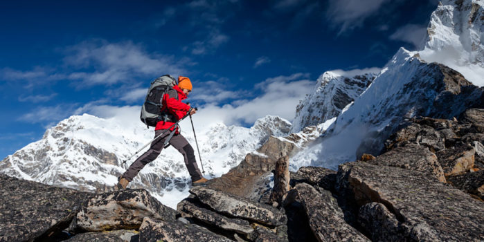 High altitude mountaineering