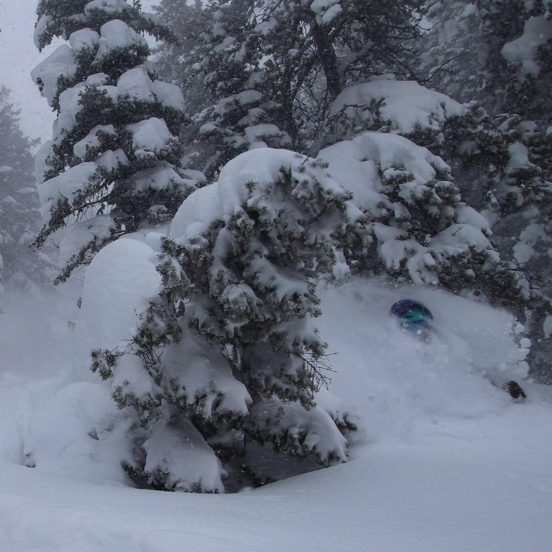 Deep snow day