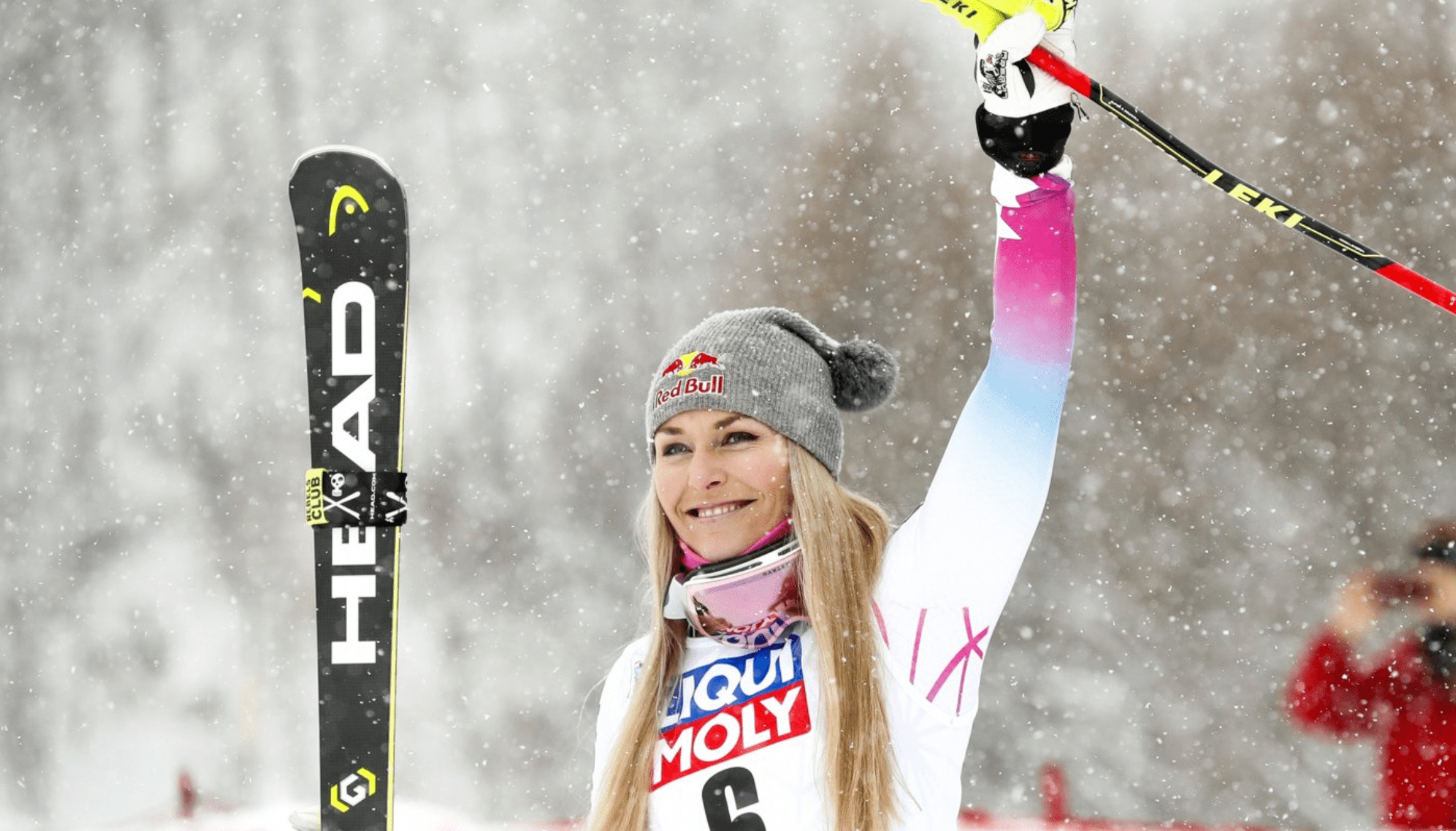 After countless injuries Lindsey Vonn retired from ski racing.