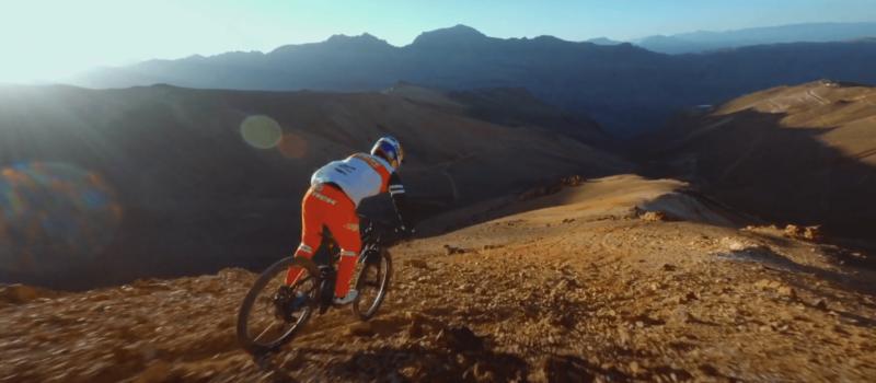 Pedro Burns mountain biking