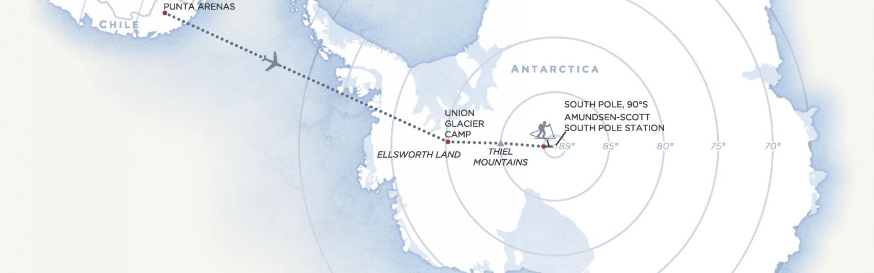 Union Glacier Camp, Antarctica,