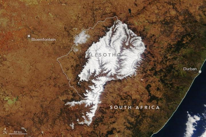 Lesotho, Southern Hemisphere, Africa