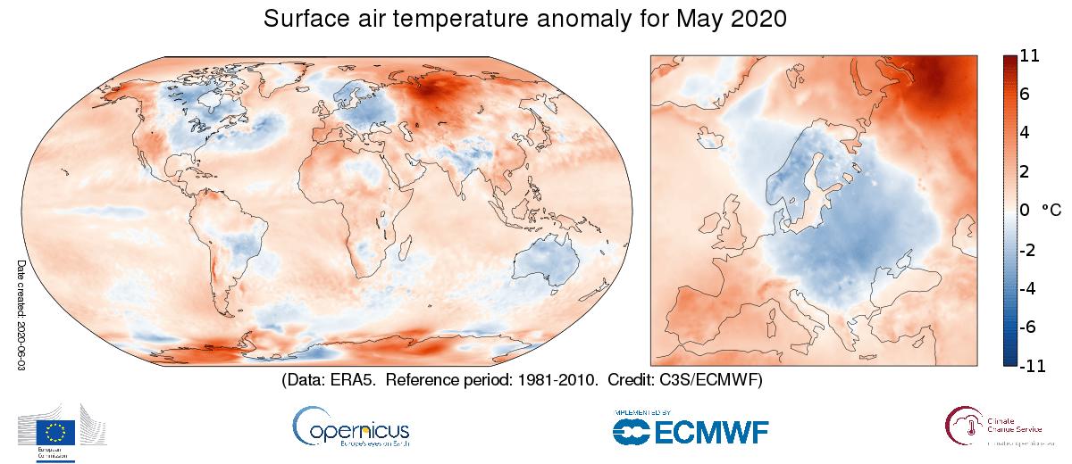 Anomalous May Temperatures