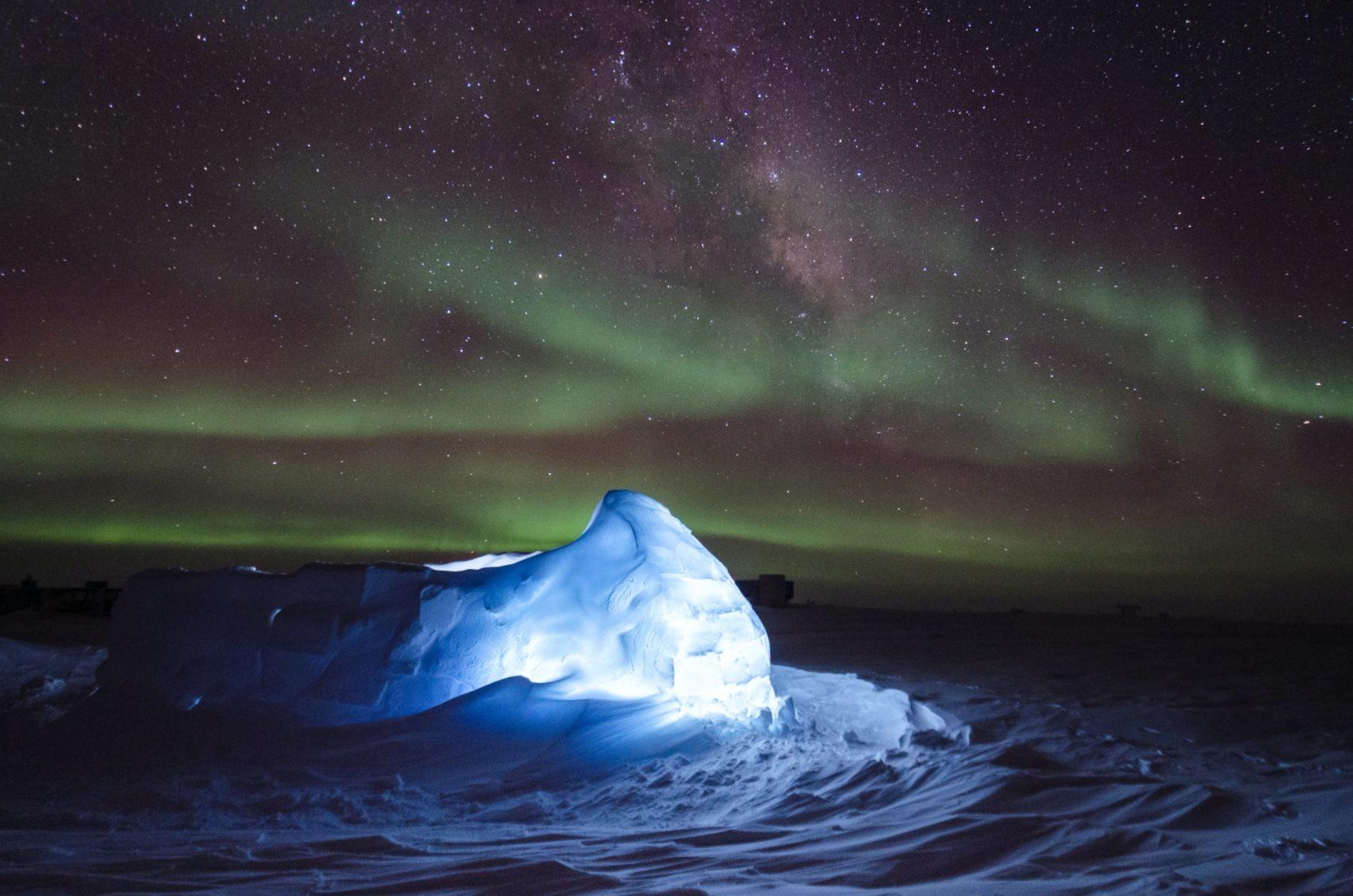 Southern Lights, Aurora Australis, Argentina, Chile, New Zealand, Australia, Antarctica