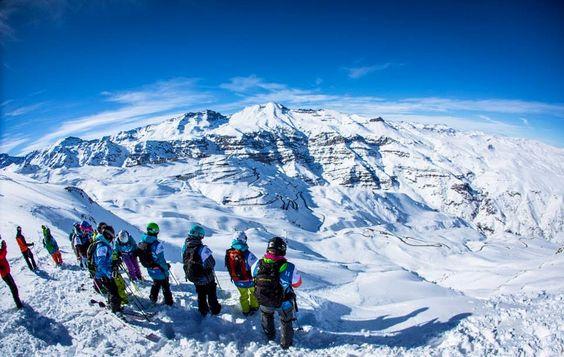 Andes Mountain, El Colorado, Farellones, Chile