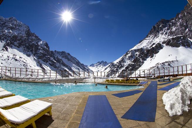 Ski Portillo, Chile,