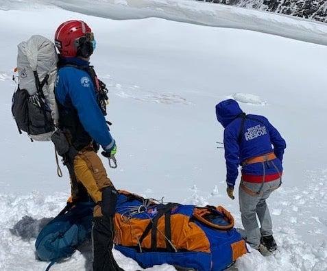 Mount Neva, climber, rescued, colorado, Juliet Couloir