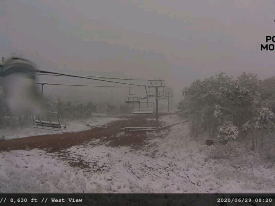 snow, utah, juneuary
