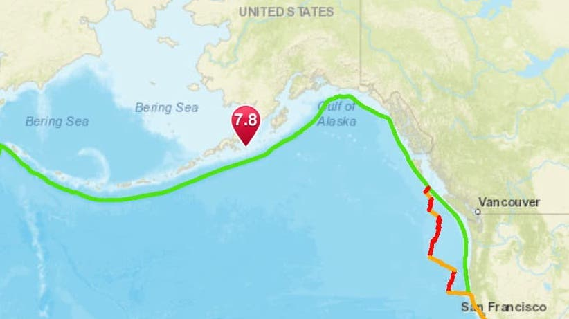 alaska, tsunami, earthquake