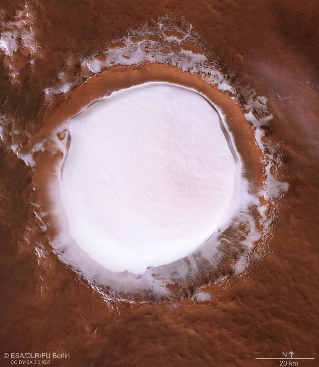 korolev crater