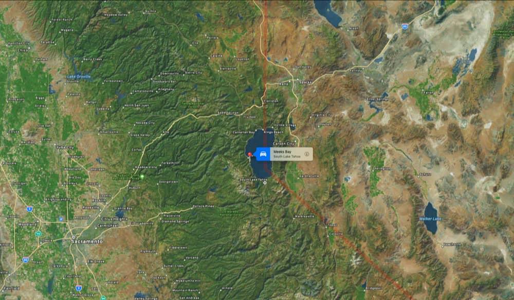 Meeks bay, west shore, california, lake tahoe