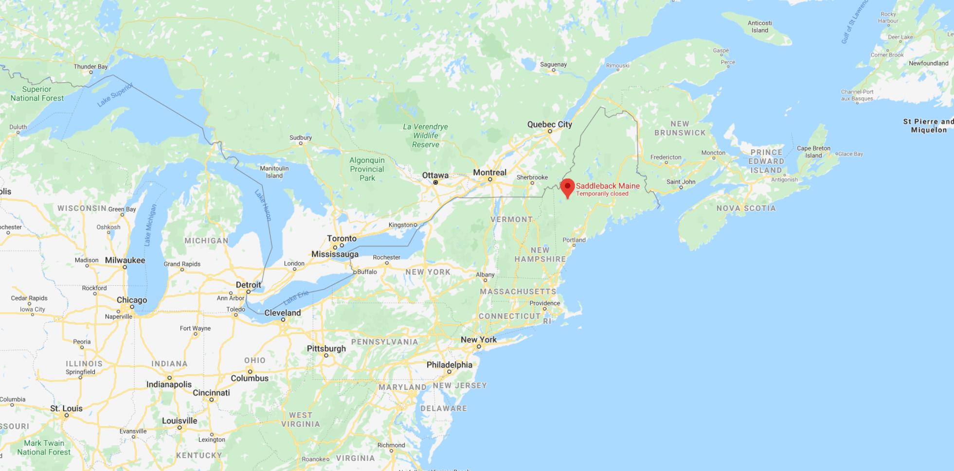 saddleback, Maine