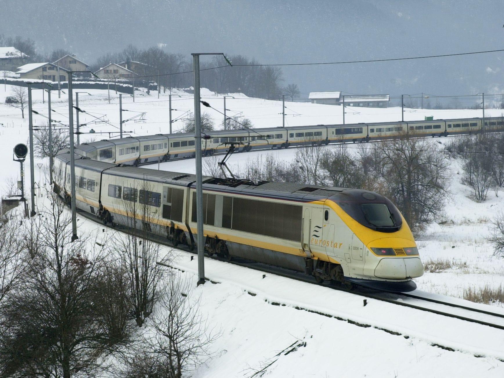 ski train, Eurostar