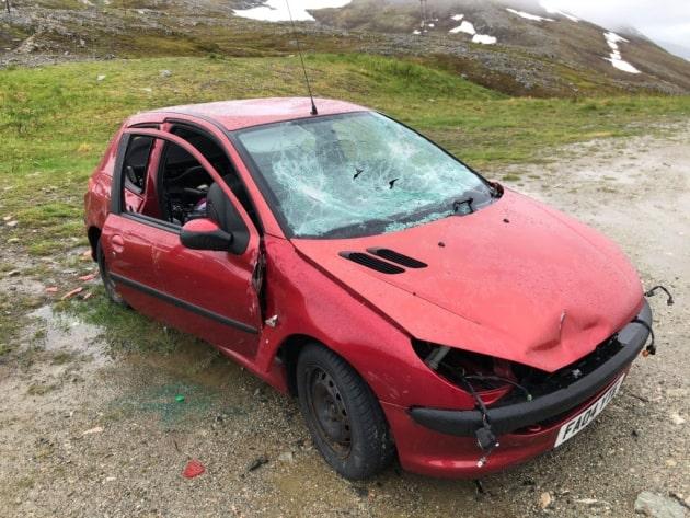 Peugeot abandoned Arctic