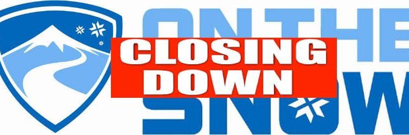 onthesnow.com, closing down