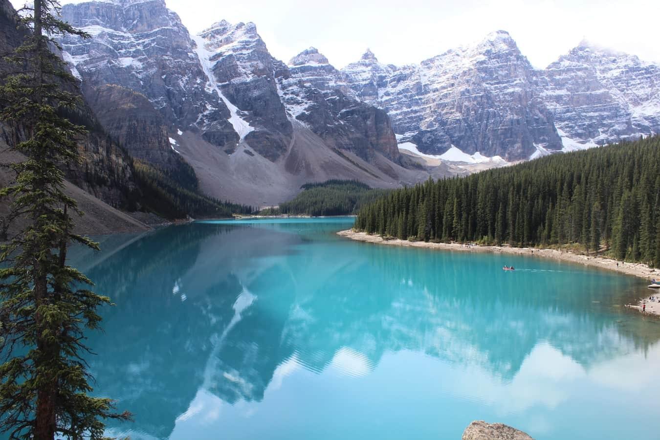 moraine lake, Canada, Alberta, Banff national park,