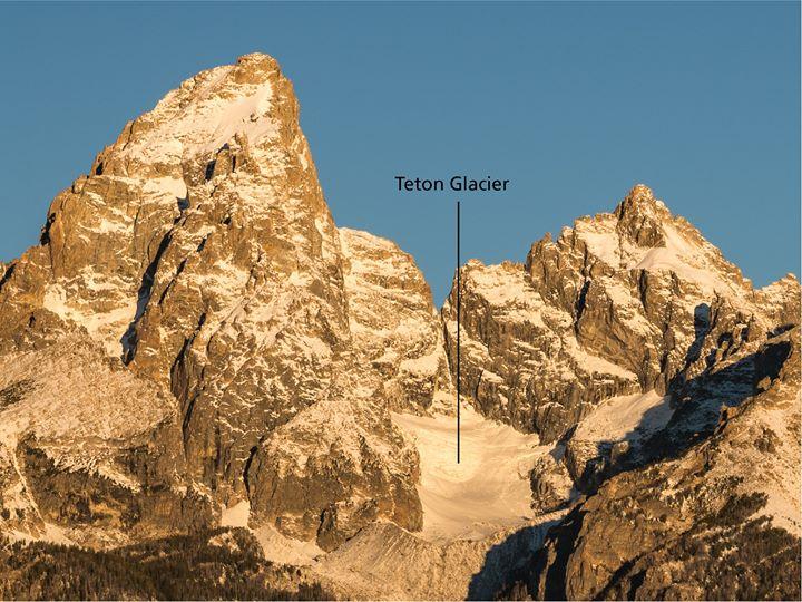 Grand Teton national park, rescue, crevasse