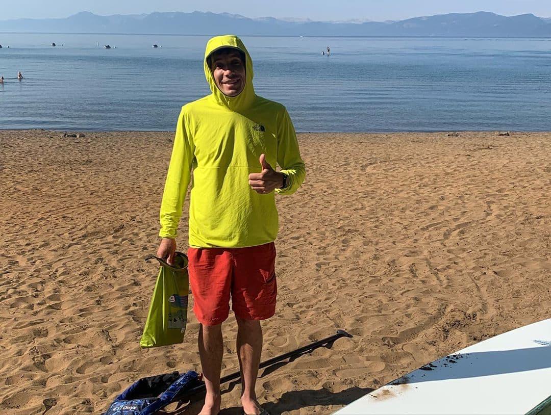 Alex Honnold, Lake Tahoe