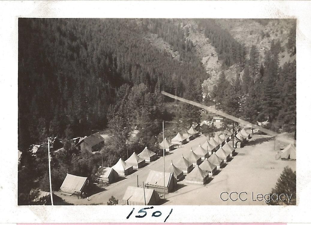 Civilian Conservation Corps Camp