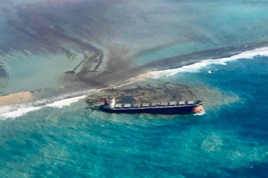 Calamity on Mauritius