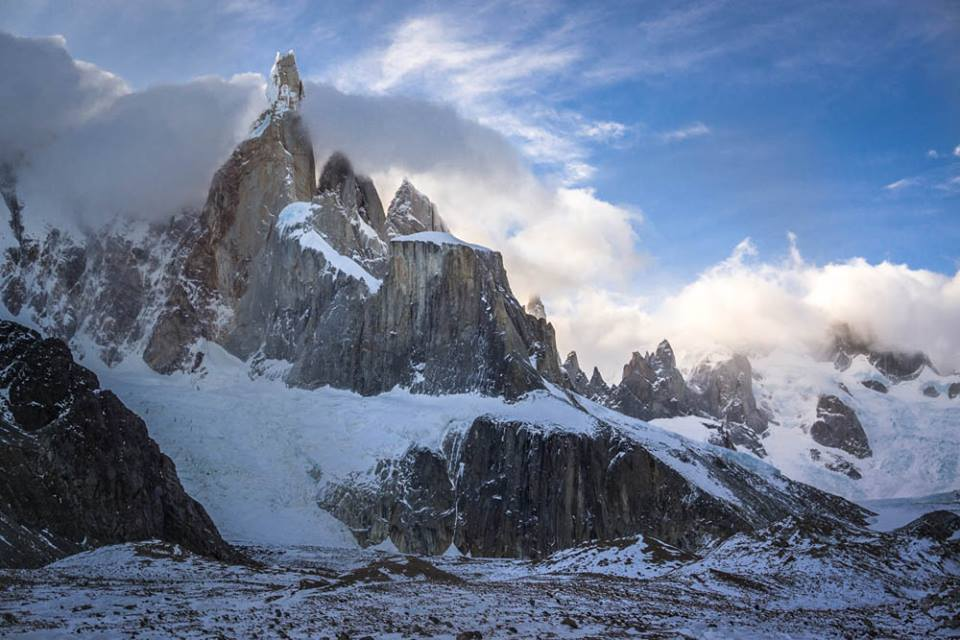Southern Ice Field, Chile, Argentina, Cerro Torre