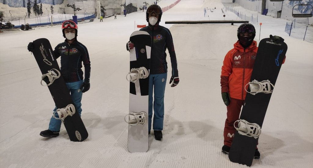 Snowboard Cross, Indoor, Spain, SnowZone, Madrid
