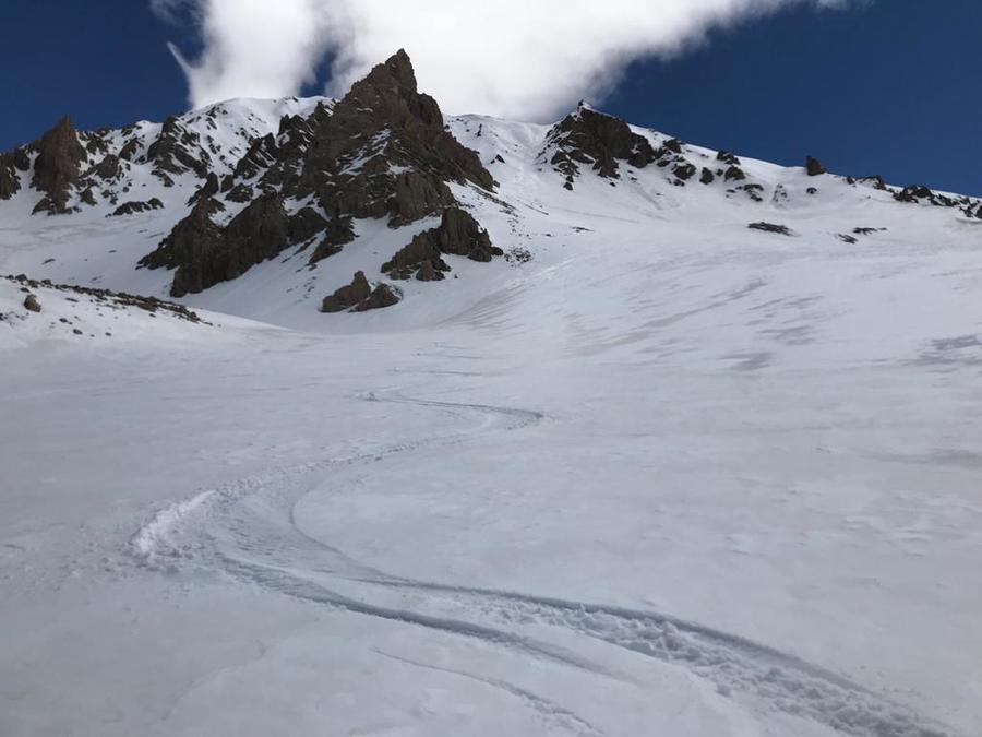 Argentina, Cerro Punta Negra, Mendoza, South America