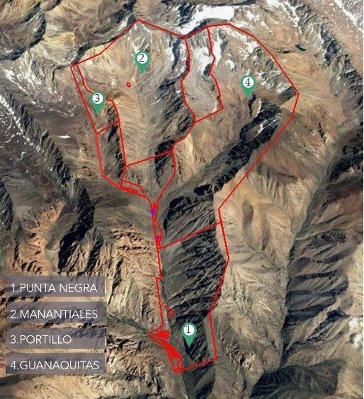 Cerro Punta Negra, Masterplan