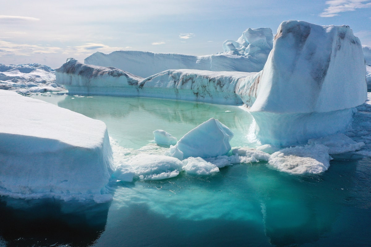 Greenland's, Global Warming, Gas Emission, Study, Reached Tipping Point