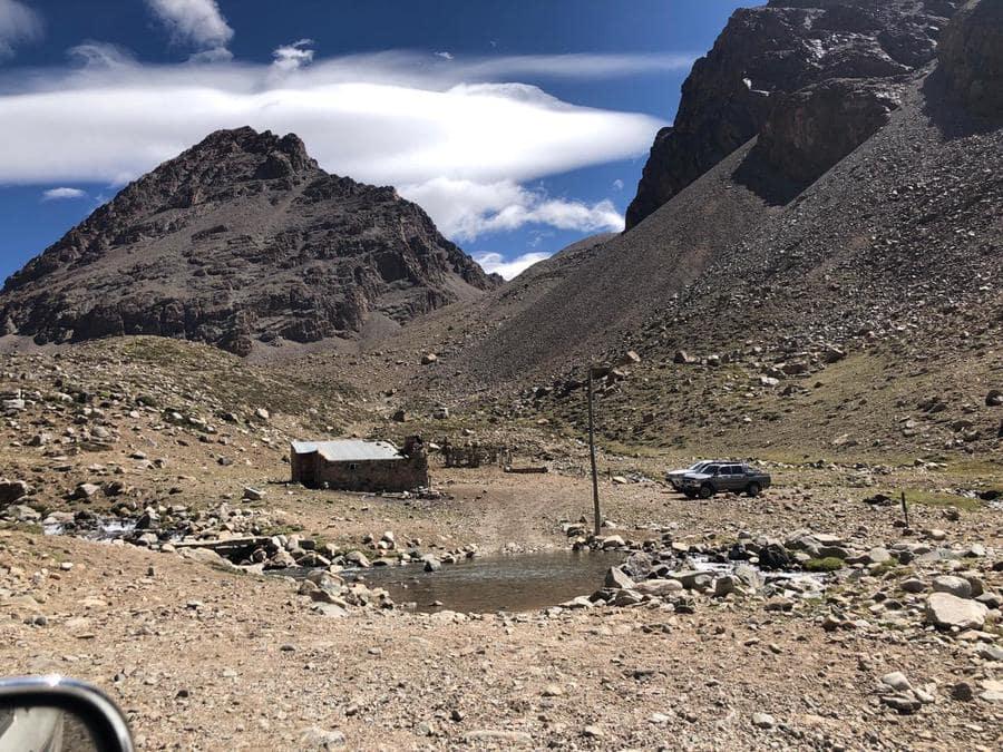 Scaravelli refuge, Guanaquitas Valley, Mendoza, Argentina