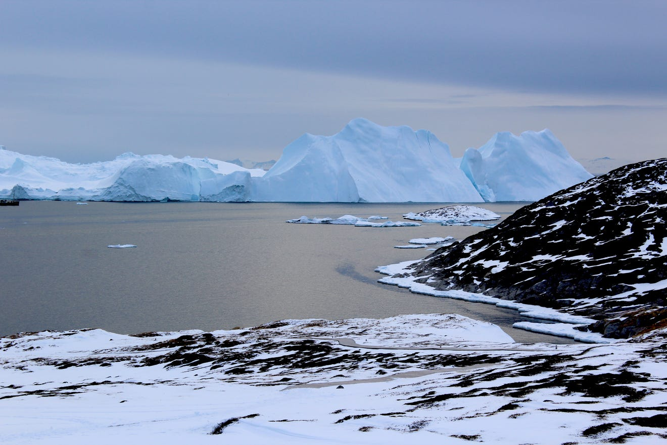 Greenland's, Iceberg, Glaciers, Ice Melting, Greenland, Nature, Tipping Point, Climate Change