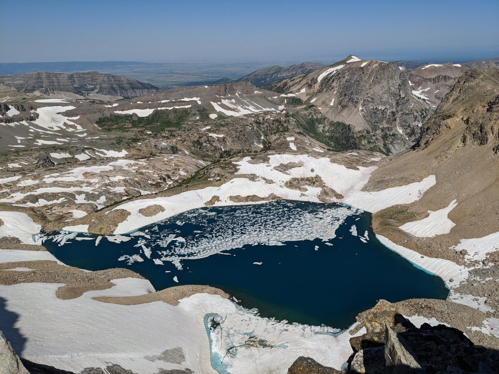 Ice Floe Lake