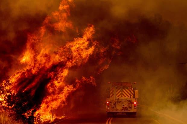 wildfires, california