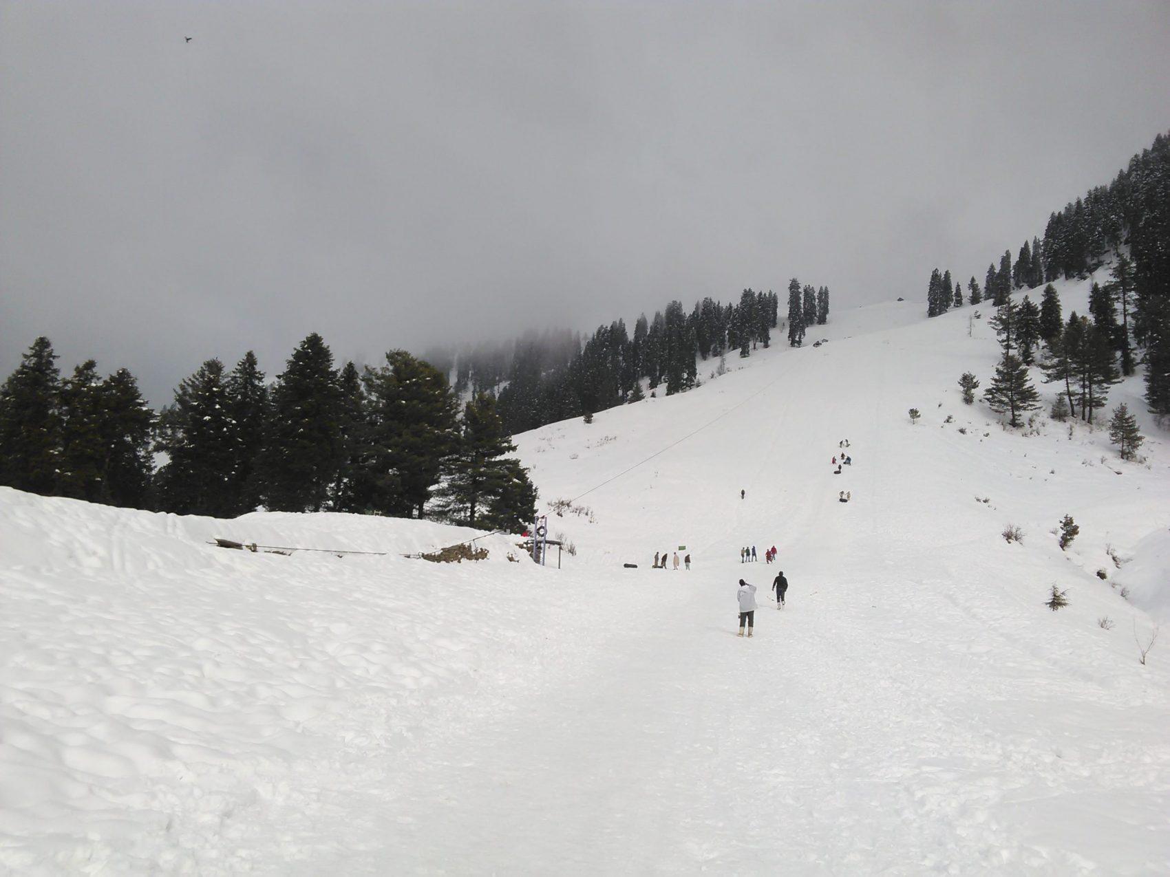 Pakistan, Ski Resort, Cable Car