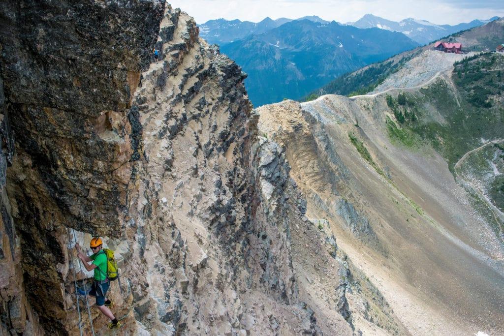 rocky mountain bc via ferrata