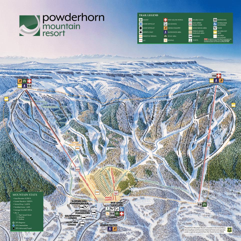 Powderhorn, colorado