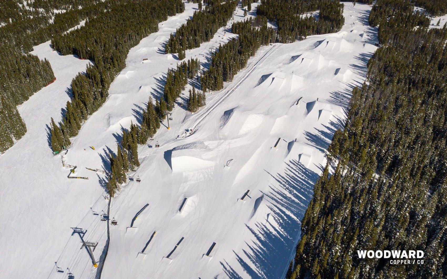 park skiing,