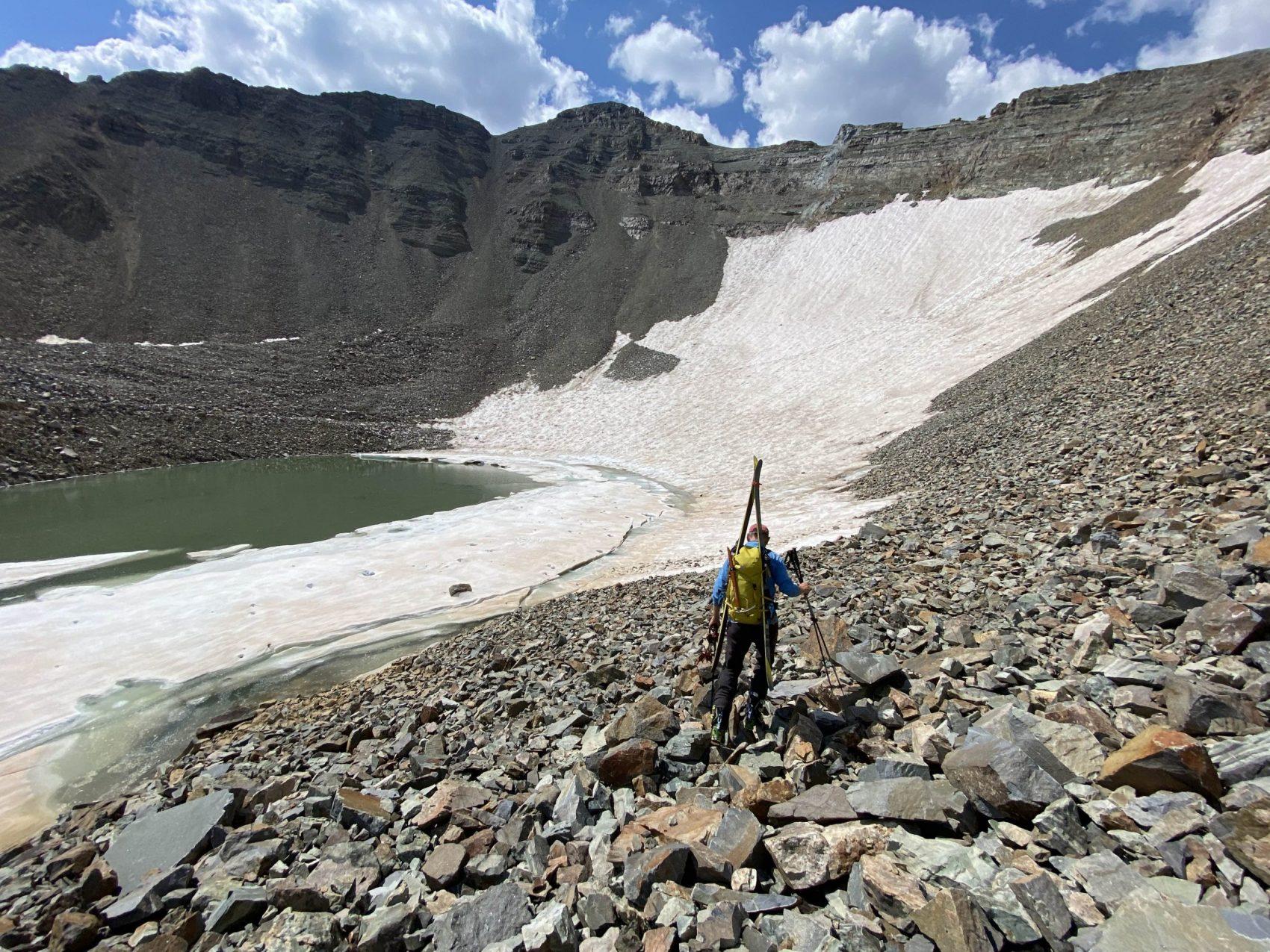 Montezuma Basin, colorado, august