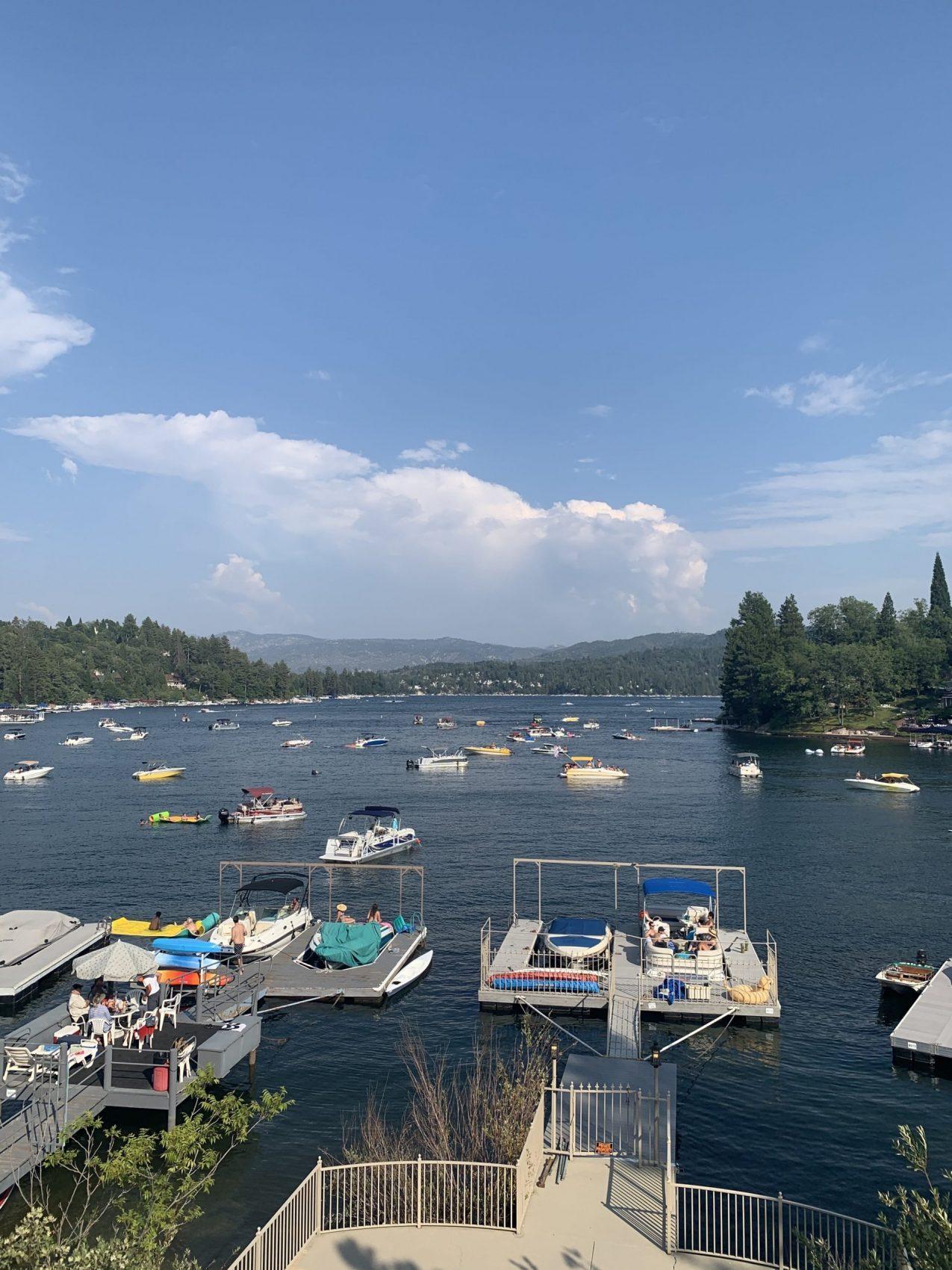 boats, lake arrowhead