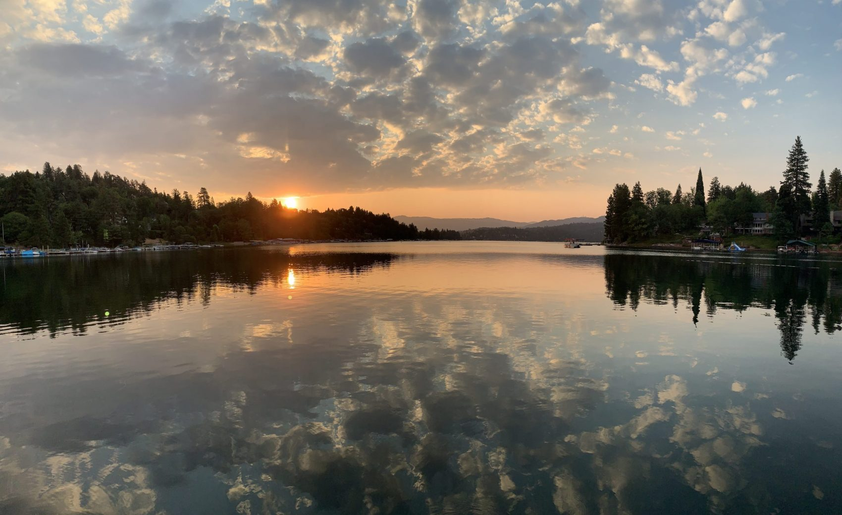 Sunrise, lake arrowhead