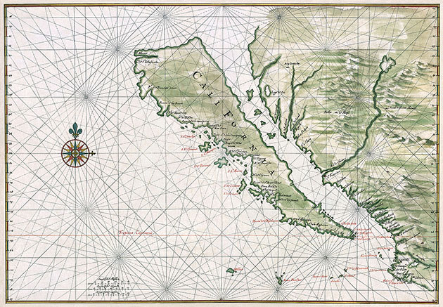 California, Island, 1650