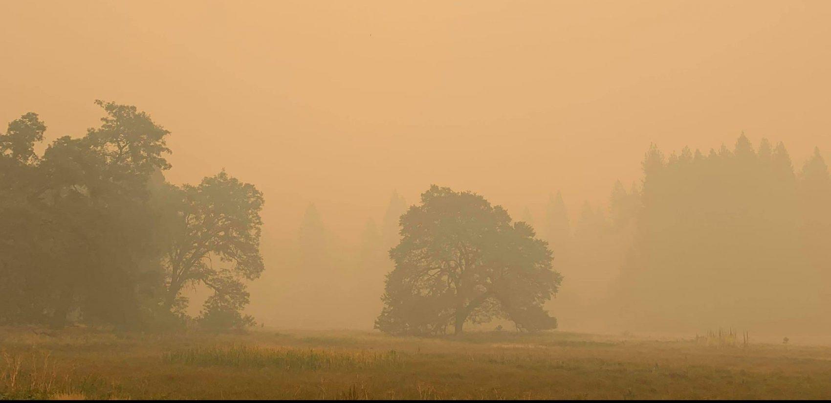 Yosemite, closed, wildfires, smoke