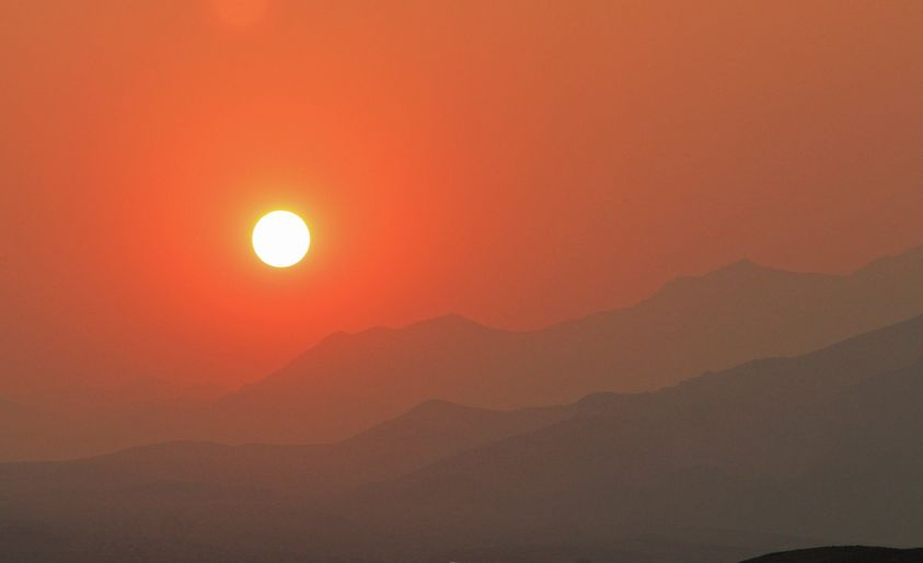 sunrise, Death Valley