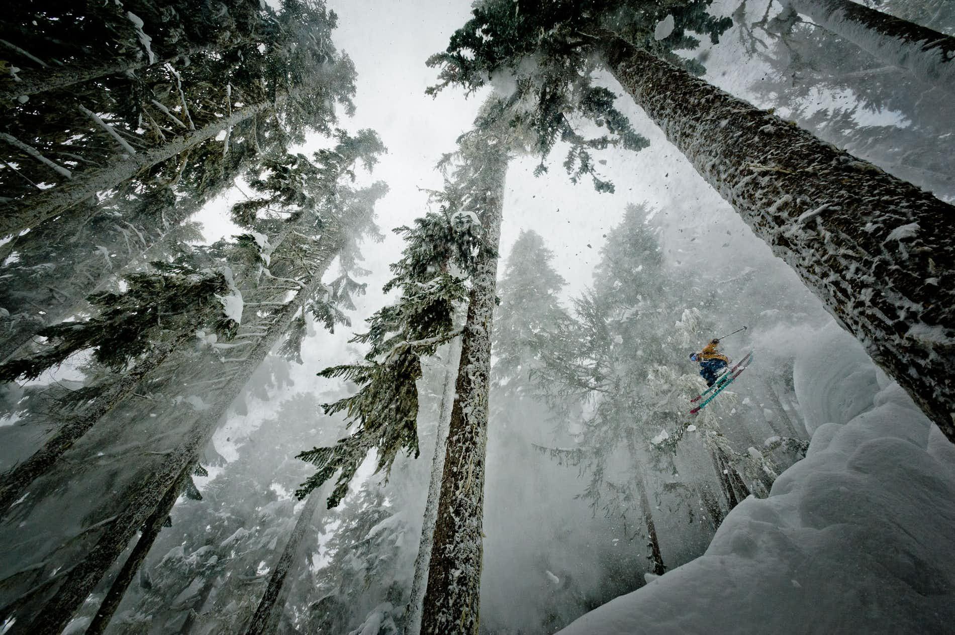 skiing smartphone camera