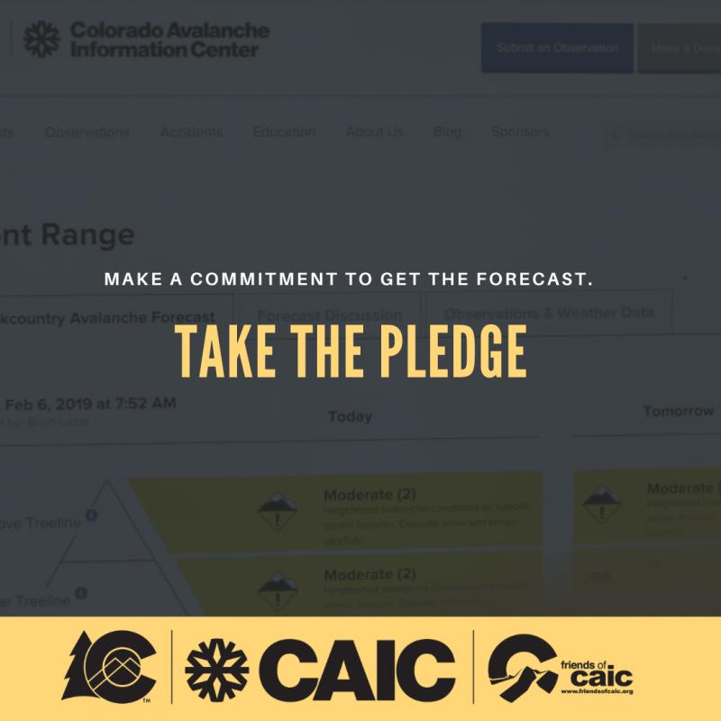 CAIC pledge