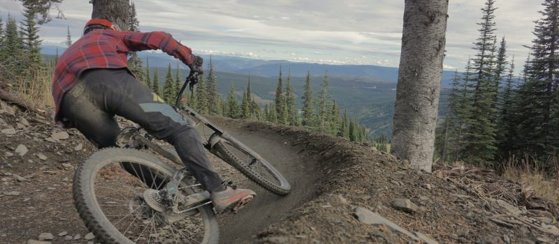 Sun Peaks Bike Park Mountain Biking Berm