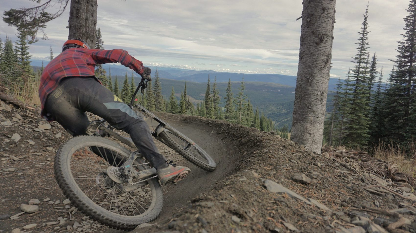 Sun Peaks Bike Park Mountain Biking Berm
