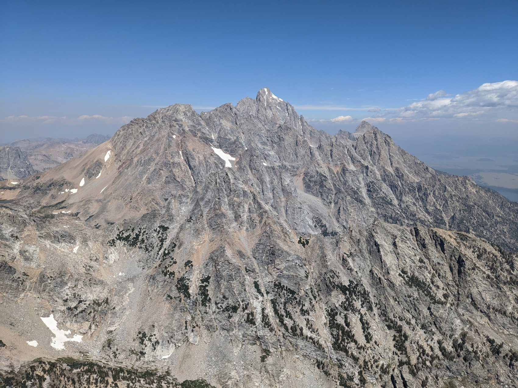 The Grand Teton from the summit of Buck Mountain